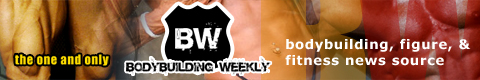 Bodybuilding Weekly Banner